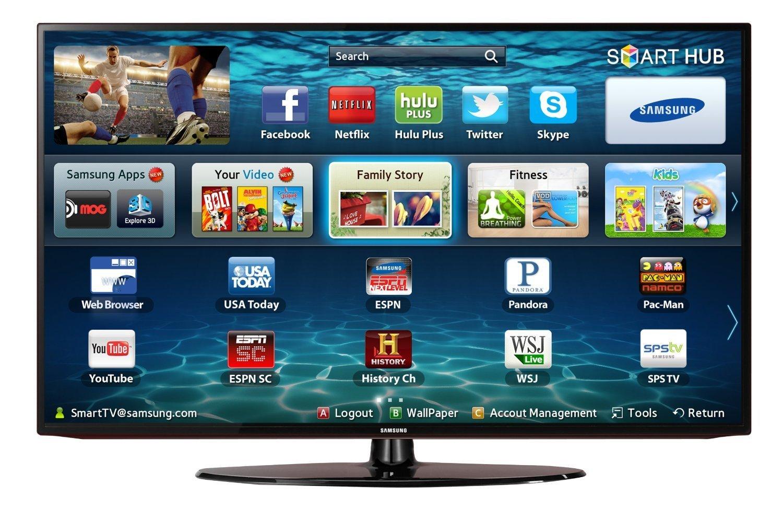 89e4ab808 Samsung UN32EH5300 32-Inch 1080p 60 Hz Smart LED HDTV (Black)
